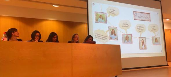 Presentació de la Bebeteca del CEIF Arraona (Sabadell) a la XV Jornada de Bones Pràctiques de la Diputació de Barcelona