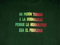 Gedi Estampació posa a la venda una samarreta sobre la nova normalitat