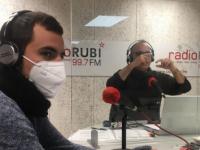 La Xarxa de Voluntariat de Rubí, protagonista a la ràdio